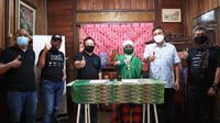 PANDI menandatangani nota kesepahaman (memorandum of understanding/MoU) dengan Yayasan Aksara Lontaraq Nusantara. Dok: PANDI