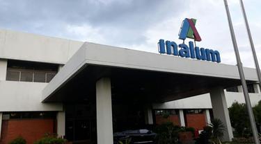Kantor Pusat PT Indonesia Asahan Alumunium (Inalum) di Kuala Tanjung Sumatera Utara. (Ilyas/Liputan6.com)