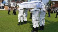 Aparat kepolisian dalam jajaran Polda DIY berjanji membantu pemakaman pasien Corona Covid-19.