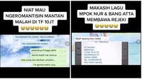 Chat Mantan Bikin Baper. (Sumber: TikTok/ @isa21111)