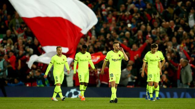 Barcelona Dihabisi Liverpool