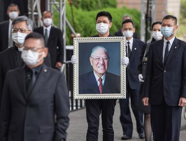 Mantan Presiden Taiwan Lee Teng-hui Dimakamkan
