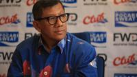Komisaris PT Persib Bandung Bermartabat, Kuswara S. Taryono. (Bola.com/Erwin Snaz)