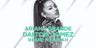 Bagaimana kisah pernikahan Ariana Grande dan Dalton Gomez? Yuk, kita cek video di atas!