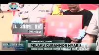 Tiga dari lima pelaku narkoba adalah  pelaku pencurian kendaraan bermotor yang telah beraksi  di Sukolilo dan Karang Pilang Surabaya.