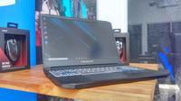 Acer memperkenalkan laptop gaming terbaru, yakni Predator Triton 300. (Liputan6.com/ Switzy Sabandar)