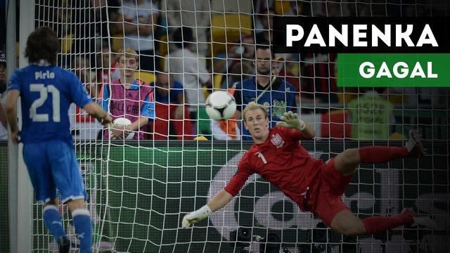 Berita video siapa saja yang gagal mencetak gol melalu titik penalti menggunakan teknik panenka?