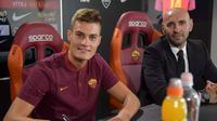AS Roma resmi merampungkan transfer Patrik Schick dari Sampdoria pada Selasa (29/8/2017). (dok. AS Roma)