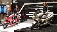All new Honda PCX 150. (Septian/Liputan6.com)