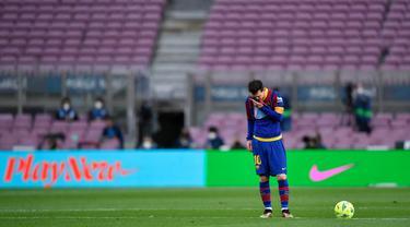 FOTO: Dipermalukan Celta Vigo, Barcelona Terlempar dari Perburuan Gelar Juara Liga Spanyol