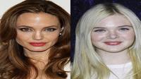Aktris muda, Elle Fanning menginginkan dirinya bisa seperti Angelina Jolie.