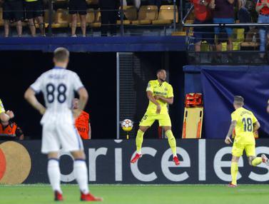 FOTO: Villarreal Tahan Imbang Atalanta di Liga Champions