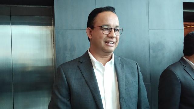 Gubernur DKI Jakarta Anies Baswedan di acara Kongres Diaspora Indonesia, Sabtu (10/8/2019).