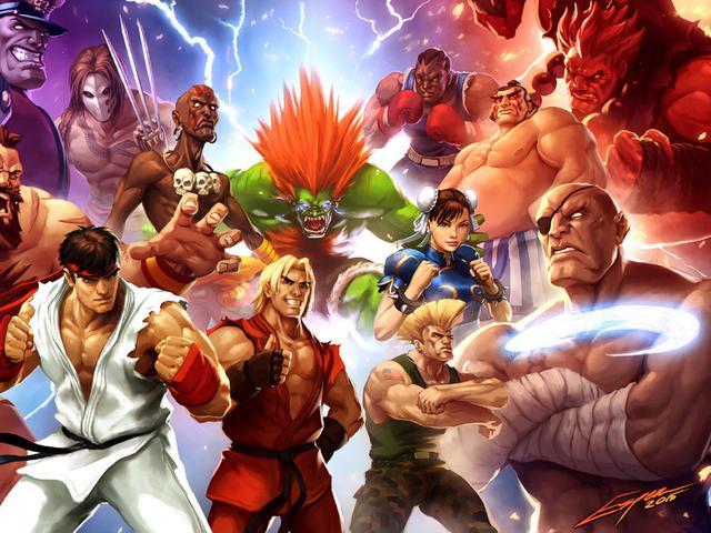 5 Karakter Street Fighter Terbaik Sepanjang Masa Tekno Liputan6 Com