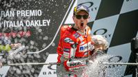 Mulai MotoGP 2019, Jorge Lorenzo akan meninggalkan Ducati dan jadi pembalap Repsol Honda. (Twitter/Ducati Motor)