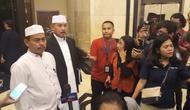 Ketua Umum Persaudaraan Alumni 212 Slamet Ma'arif. (Liputan6.com/Ady Anugrahadi)