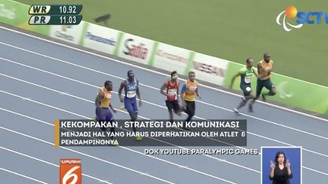 Abdul Halim adalah difabel tunanetra salah satu atlet andalan Timnas Indonesia dalam cabang atletik nomor lari 100 dan 200 meter putra Asian Para Games 2018.