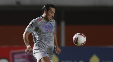 FOTO: Wonderkid Macan Kemayoran jadi Biang Keladi Kalahkan Persib di Final Leg Pertama Piala Menpora