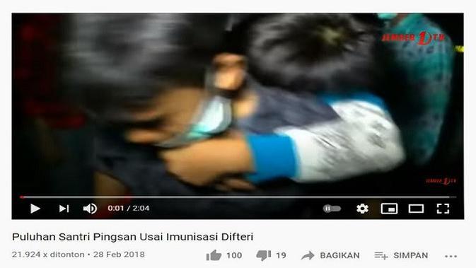 Gambar Tangkapan Layar Video dari Channel YouTube Jember 1TV