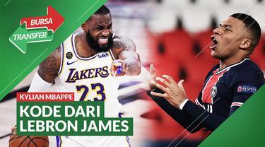 Berita Video aksi LeBron James yang mengganti foto profil dengan Kylian Mbappe