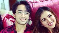 Ayu Ting Ting dan Shaheer Sheikh. (Instagram @ayutingting92)