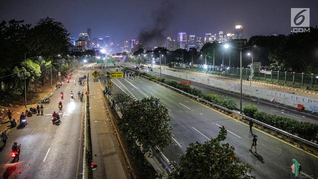 Pasca Demo Mahasiswa, Begini Kondisi di kawasan Jalan Depan DPR