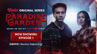 Vidio Original Series Paradise Garden dibintangi Jefri Nichol dan Vanesha Prescilla. (Dok. Vidio)