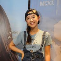 Foto profil Jannine Weigel (Galih W. Satria/bintang.com)