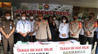 Polisi mengungkap kasus mafia tanah di Kota Tangerang