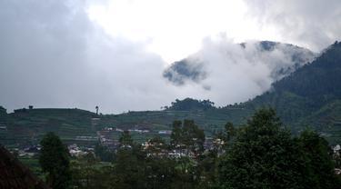 Dataran Tinggi Dieng, Jawa Tengah. (Foto: Liputan6.com/Muhamad Ridlo)