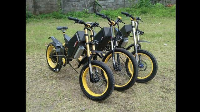 Motor Dan Sepeda Listrik Lokal Ini Mampu Dipacu Hingga 70 Kpj Otomotif Liputan6 Com