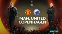 Liga Europa - Manchester United Vs Copenhagen (Bola.com/Adreanus Titus)