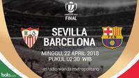 Copa del Rey Sevilla Vs Barcelona (Bola.com/Adreanus Titus)