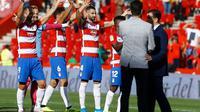 Skuat Granada merayakan kemenangan atas Real Betis. (Dok. Granada CF)