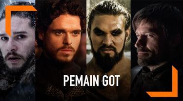 Bagi pecinta serial Game of Thrones, karakter-karakter pria digambarkan berjanggut. Seperti sudah menjadi ciri khas dari penampilan mereka. Lalu bagaimana ya penampilan para pemain kalau mencukur habis janggutnya?