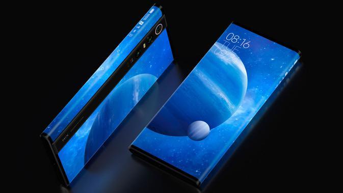 Penampakan smartphone konsep 5G Xiaomi yang diberi nama Mi Mix Alpha. (Doc: Xiaomi)