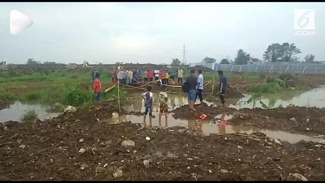 Lima bocah asal Bogor tewas setelah tenggelam dalam kubangan air hujan sedalam dua meter.