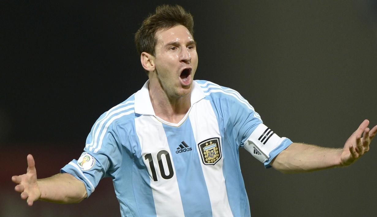 FOTO Evolusi Selebrasi Gol Lionel Messi Dari Masa Ke Masa Spanyol