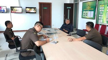 Kejati Sulsel agendakan pemeriksaan terhadap Kadis Penanaman Modal dan PTSP Kota Makassar terkait dugaan kredit macet BNI (Liputan6.com/ Eka Hakim)