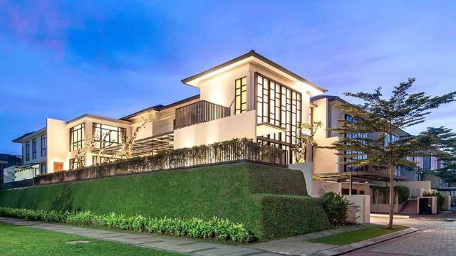 Inspirasi Desain Rumah Modern Bernuansa Klasik Nan Mewah Lifestyle Liputan6 Com
