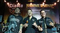 Konfrensi pers acara Hammersonic 2017. (Surya Hadiansyah/Liputan6.com)