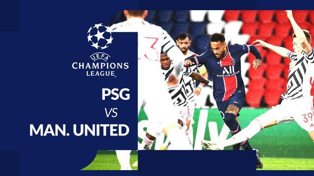 Berita motion grafis statistik PSG vs Manchester United, Rabu (21/10/2020) di Parc des Princes, Paris.