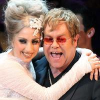 Lady Gaga & Elton John (foto: pagesix.com)
