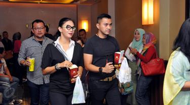 Suasana Gala Premier film San Andreas di XXI Plaza Senayan, Jakarta (27/05/2015). Tampak sejumlah selebriti turut hadir dalam Gala Premier film San Andreas. (Liputan6.com/Panji Diksana)