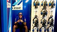 Pembalap Suzuki, Andrea Iannone. (Twitter/Suzuki Ecstar)