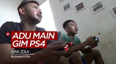 Berita video pemain kakak beradik di Persib Bandung, Gian Zola dan Beckham Putra, kini sering beradu main gim di PS4 (Playstation 4) untuk mengisi waktu luang di rumah selain berlatih.