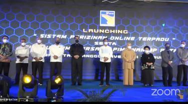Launching Perizinan Online Serta Silaturahmi Bersama Pimpinan BP Batam