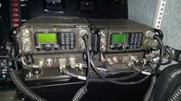 Tank Boat Antasena dengan alat komunikasi radio LenHDR100-V dan LenMDR50-V serta Intercom LenCavysys. (Foto: Istimewa)