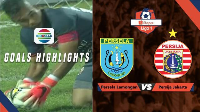 Highlights Shopee Liga 1 2019, Persija Ditahan Imbang Persela 0-0
