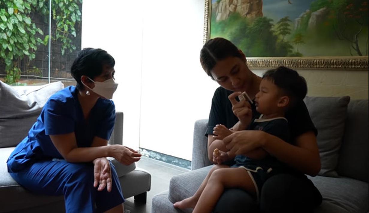 Kiano Anak Baim Wong dan Paula Verhoeven (Youtube/ Baim Paula)